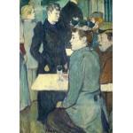 Puzzle  Grafika-01989 Henri de Toulouse-Lautrec : Au Moulin de la Galette, 1892