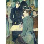 Puzzle  Grafika-01990 Henri de Toulouse-Lautrec : Au Moulin de la Galette, 1892