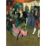 Puzzle  Grafika-01994 Henri de Toulouse-Lautrec : Marcelle Lender Dansant le Bolero en