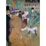 Puzzle  Grafika-02003 Henri de Toulouse-Lautrec : Quadrille au Moulin Rouge, 1892