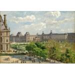 Puzzle  Grafika-02013 Camille Pissarro : Place du Carrousel, Paris, 1900