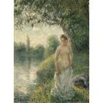 Puzzle  Grafika-02018 Pissarro Camille : La baigneuse, 1895