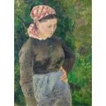 Puzzle  Grafika-02024 Camille Pissarro : Paysanne, 1880