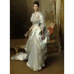 Puzzle  Grafika-02045 John Singer Sargent : Margaret Stuyvesant Rutherfurd White (Mrs. Henry White), 1883