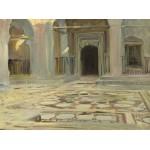 Puzzle  Grafika-02069 John Singer Sargent : Dallage au Caire, 1891
