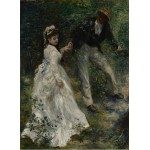 Puzzle  Grafika-02089 Pierre-Auguste Renoir : La Promenade, 1870