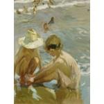 Puzzle  Grafika-02113 Joaquin Sorolla y Bastida : Le Pied Blessé, 1909