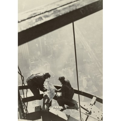 Puzzle Grafika-02123 Lewis W. Hine : Empire State Building, New York, 1931