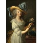 Puzzle  Grafika-02126 Elisabeth Vigée-Lebrun : Marie-Antoinette, 1783