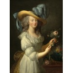 Puzzle  Grafika-02127 Elisabeth Vigée-Lebrun : Marie-Antoinette, 1783