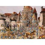 Puzzle  Grafika-02141 François Ruyer - Attaque du Château