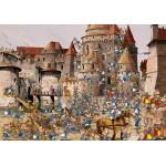 Puzzle  Grafika-02142 François Ruyer - Attaque du Château