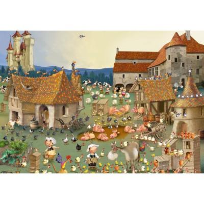 Puzzle Grafika-02156 François Ruyer - Ferme