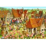 Puzzle  Grafika-02160 François Ruyer - Ferme