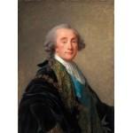 Puzzle  Grafika-02176 Élisabeth-Louise Vigee le Brun : Alexandre Charles Emmanuel de Crussol-Florensac, 1787