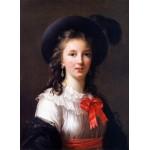 Puzzle  Grafika-02179 Louise-Élisabeth Vigee le Brun : autoportrait, 1781