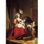 Puzzle  Grafika-02181 Louise-Élisabeth Vigee le Brun : Marie Antoinette et ses enfants, 1787