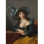 Puzzle  Grafika-02188 Louise-Élisabeth Vigee le Brun : Comtesse de Segur, 1785