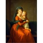 Puzzle  Grafika-02197 Louise-Élisabeth Vigee le Brun : Princesse Alexandra Golitsyna et son fils Piotr, 1794