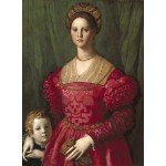 Puzzle   Agnolo Bronzino : Jeune Femme et Son Petit Garçon, 1540