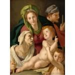 Puzzle   Agnolo Bronzino : La Sainte Famille, 1527/1528
