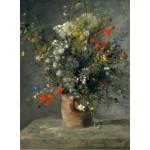 Puzzle   Auguste Renoir : Fleurs dans un Vase, 1866