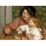 Puzzle   Auguste Renoir : Gabrielle et le Fils de l'Artiste, Jean, 1895-1896