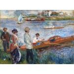 Puzzle   Auguste Renoir : Rameurs à Chatou, 1879