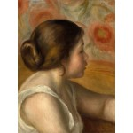Puzzle   Auguste Renoir : Tête de Jeune Fille, 1890