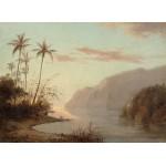 Puzzle   Camille Pissarro : Creek in St. Thomas, Virgin Islands, 1856