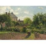 Puzzle   Camille Pissarro : Le Jardin de l'Artiste à Eragny, 1898