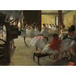 Puzzle   Edgar Degas : La Classe de Danse, 1873