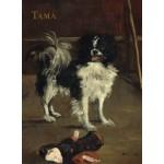 Puzzle   Edouard Manet : Tama : Le Chien Japonais, 1875