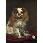 Puzzle   Edouard Manet : Un Cavalier King Charles Spaniel, 1866