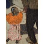 Puzzle   Edouard Vuillard : Enfant portant un foulard rouge, 1891