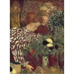 Puzzle   Edouard Vuillard : Femme dans une robe rayée, 1895