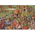 Puzzle   François Ruyer - Lapins !