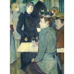 Puzzle   Henri de Toulouse-Lautrec : Au Moulin de la Galette, 1892