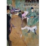 Puzzle   Henri de Toulouse-Lautrec : Quadrille au Moulin Rouge, 1892