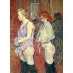 Puzzle   Henri de Toulouse-Lautrec : Rue des Moulins, 1894