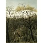 Puzzle   Henri Rousseau : Rendez-Vous dans la Forêt, 1889