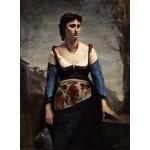 Puzzle   Jean-Baptiste-Camille Corot : Agostina, 1866