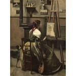 Puzzle   Jean-Baptiste-Camille Corot : Atelier de l'Artiste, 1868
