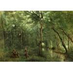 Puzzle   Jean-Baptiste-Camille Corot : Les Ramasseurs d'Anguille, 1860-1865