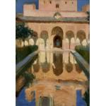 Puzzle   Joaquin Sorolla y Bastida : Hall des Ambassadeurs, Alhambra, Grenade, 1909