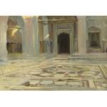 Puzzle   John Singer Sargent : Dallage au Caire, 1891