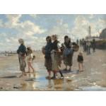 Puzzle   John Singer Sargent : En Route Pour la Pêche, 1878
