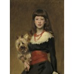Puzzle   John Singer Sargent : Miss Beatrice Townsend, 1882