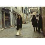 Puzzle   John Singer Sargent : Rue à Venise, 1882