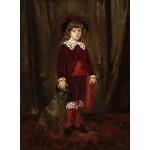 Puzzle   Mary Cassatt : Eddy Cassatt (Edward Buchanan Cassatt), 1875